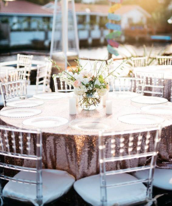 table and chair rentals fort lauderdale