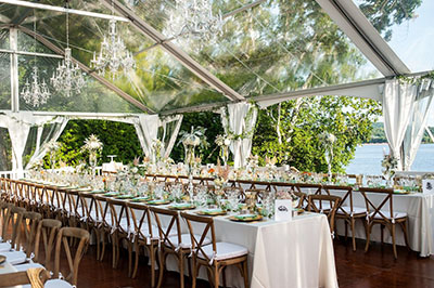clear wedding tent rental broward