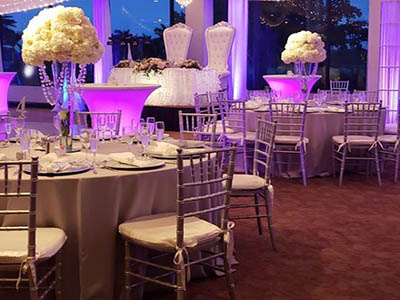table and chair rentals west palm beach