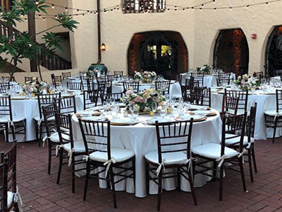 rent chairs for wedding