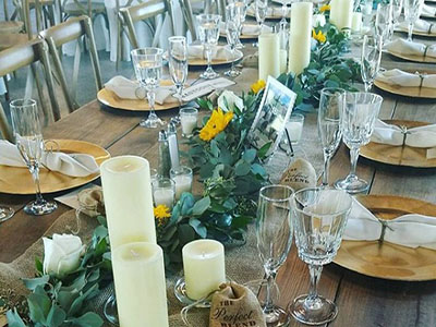 farmhouse table rentals fort lauderdale