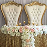 wedding throne rentals miami