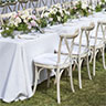 rustic wedding furniture